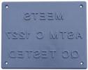 Meets ASTM Standards smaller